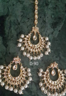 Charming Tikka & Earrings